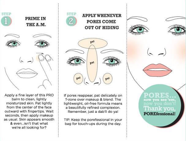Benefit-pore-minimizer