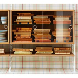 String Display Cabinet By String